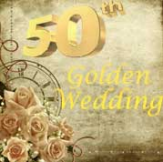 Golden Wedding Annviersary Gifts